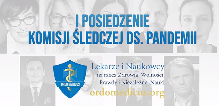 I posiedzenie komisji śledczej ds. pandemii (dr Piotr Witczak)