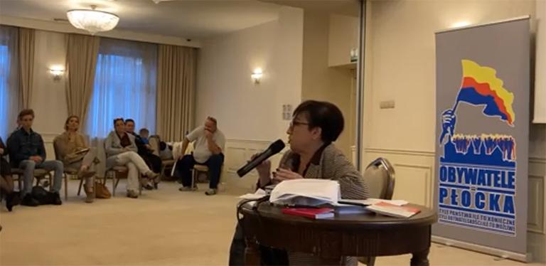 Konferencja prawna w Płocku – not. Beata Zdziebłowska-Gidian, r. pr. Katarzyna Tarnawa-Gwóźdź